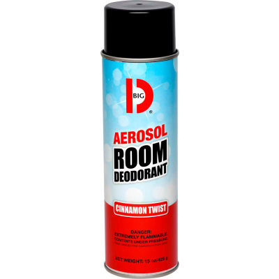 Big D Handheld Aerosol Room Deodorant - Cinnamon - 429