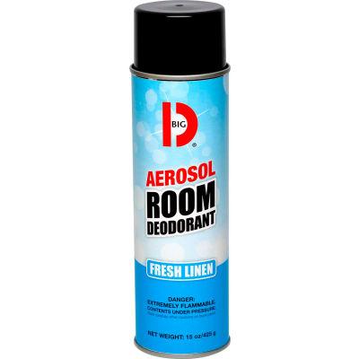 Big D Handheld Aerosol Room Deodorant - Fresh Linen - 430