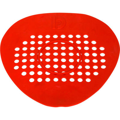 Big D Flat Urinal Screen - Cerise (Cherry)/Red - 652