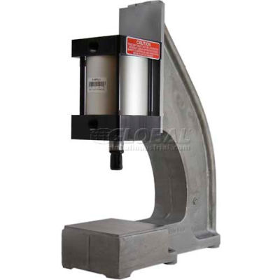 "Bimba-Mead Air Press AP-400PX4, 3/4 Ton Pneumatic Arbor Press W/4"" Bore X 4"" Stroke Cylinder Mount"