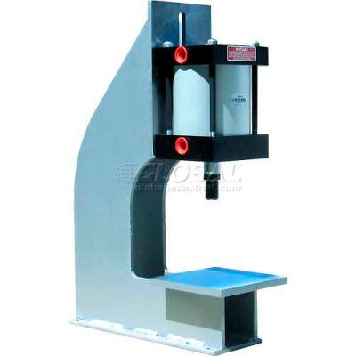 "Bimba-Mead Air Press AP-600PX6, 1-3/4 Ton Pneumatic Arbor Press W/6"" Bore X 6"" Stroke Cylinder MT"