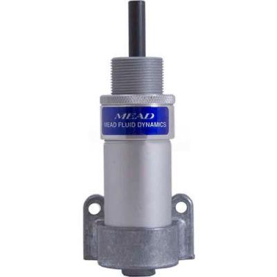 "Bimba-Mead Cylinder H-122, Single Acting 4"" Bore, 2-5/8"" Stroke, Bottom Flush Mount"