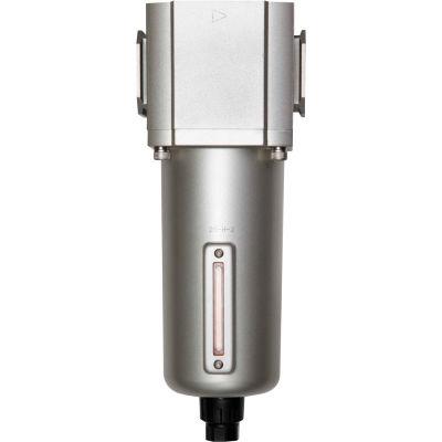 "Bimba-Mead, Filter, MGF600-25-M-D, 1"" NPT Ports, Manual Drain, Metal Bowl"