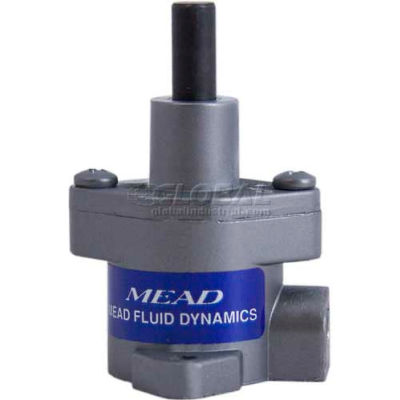 "Bimba-Mead Cylinder V-1, Single Acting 1"" Bore, 11/16"" Stroke, Vertical Base Mount"