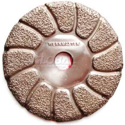 """WerkMaster™ Stone / Hardwood / Terrazzo Tooling / 002-0662-00 / 3"""" Vacuum Brazed 70G / 1 Pack"""