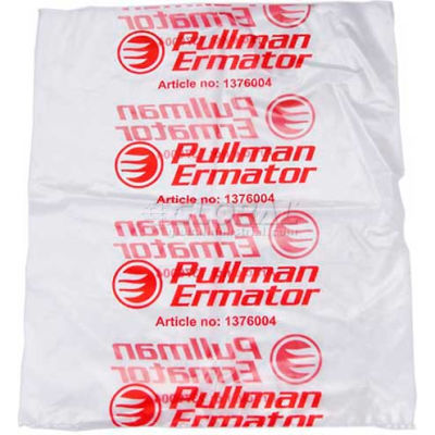 Ermator™ Plastic Bags For Use With S13, 25/Pack - 1276008