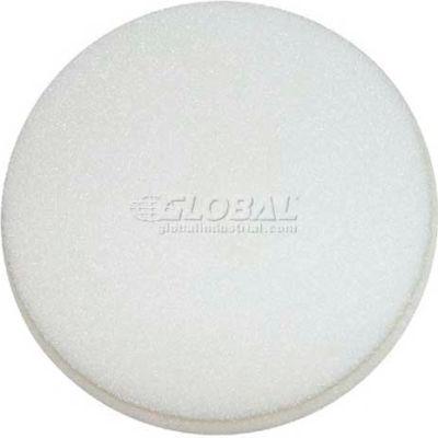 "WerkMaster™ Concrete Tooling, 011-0000-00, 4 3/4"" Thickline-White, Scrubbing/Buffing Pad, 1 Pk"