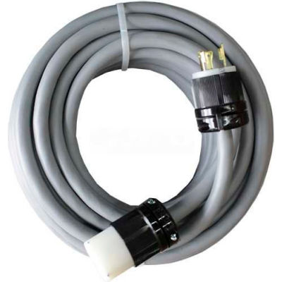 WerkMaster™ Ext Cord, 1 Phase, 10/3, 250V, 30A, Nonmarking Cable, 540-0033-00, 1 Pack