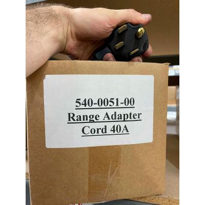 WerkMaster™ Range Adapter Cord, 40A, 540-0051-00, 1 Pack
