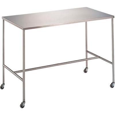 """Blickman 7839SS Sawyer Instrument Table with H-Brace, 30""""L x 16""""W x 34""""H"""