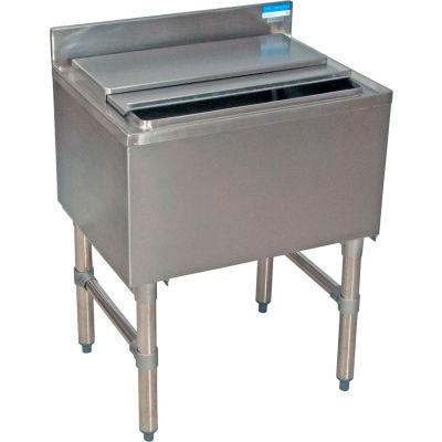 "BK resources BKIB-2412-18S Stainless Steel Ice Bin, 24""Wx18-1/4""Dx32-1/2""H"