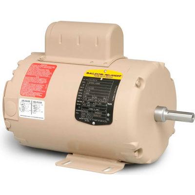 Baldor-Reliance Motor AFL3523A, 2HP, 3450RPM, 1PH, 60HZ, 143TZ, 3535L, TEAO, F1