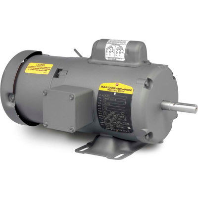 Baldor-Reliance Motor BL3518, .5HP, 1725RPM, 1PH, 60HZ, 56, 3421L, TEFC, F1, B