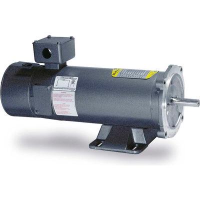 Baldor-Reliance Intergral Tach DC Motor, CDPT3455, 1 HP, 1750 RPM, TEFC, 56C Frame