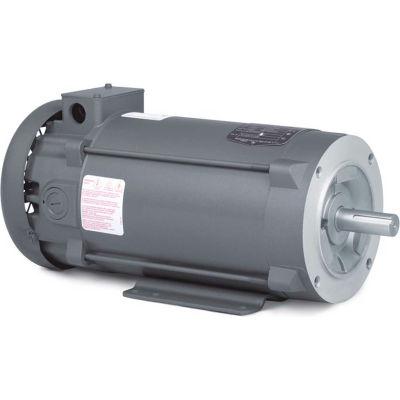 Baldor-Reliance Intergral Tach DC Motor, CDPT3585, 2 HP, 1750 RPM, TEFC, 143TC Frame