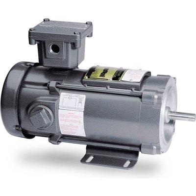 Baldor-Reliance DC Explosion Proof Motor, CDPX3555, 1 HP, 1750 RPM, XPFC, 56C