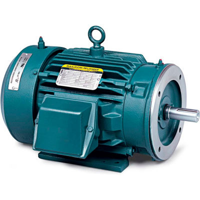 Baldor-Reliance Motor CECP3769T, 7.50HP, 3520RPM, 3PH, 60HZ, 213TC, TEFC, FOOT