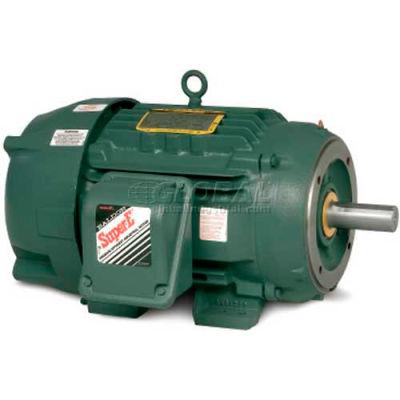 Baldor-Reliance Severe Duty Motor, CECP83661T-4, 3 PH, 3 HP, 460 V, 1755 RPM, TEFC, 182TC Frame