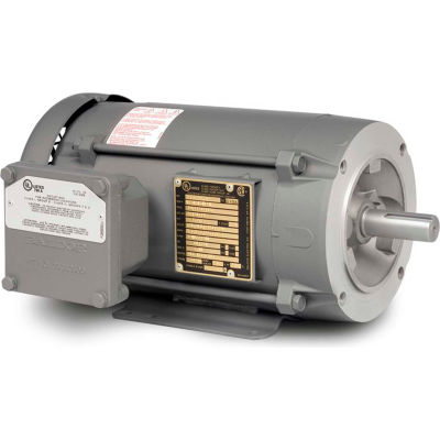 Baldor-Reliance Explosion Proof Motor, CEM7018T, 3PH, 1.5HP, 230/460V, 3500RPM, 143TC
