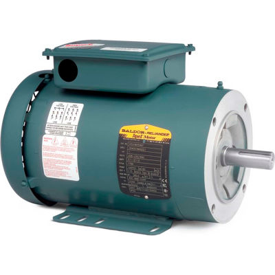Baldor-Reliance Motor CEUHM3558T, 2HP, 1725RPM, 3PH, 60HZ, 145TYC, 3532M, TEFC, F