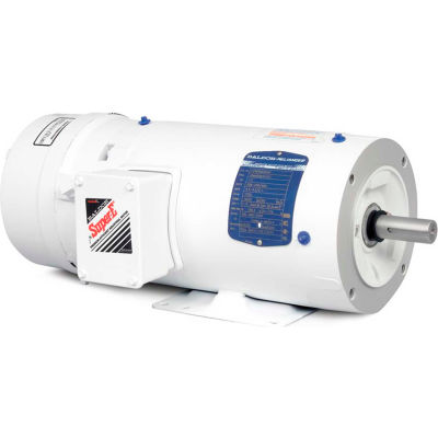 Baldor-Reliance Motor CEWDBM3546, 1HP, 1740RPM, 3PH, 60HZ, 56C, 3526M, TENV, F1, B