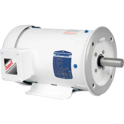 Baldor-Reliance Washdown Motor CEWDM3708T, 3 PH, 5 HP, 1160 RPM, 208-230/460 V, TEFC, 215TC FR
