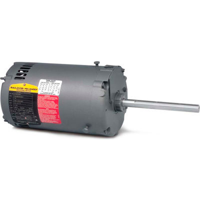Baldor-Reliance Motor CFM3136A, .5HP, 1140RPM, 3PH, 60HZ, 56YZ, 3516M, OPEN, F1