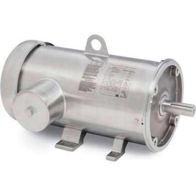Baldor CFSWDM3611T-E, Food Safe, IP69, 3HP, 1760RPM, 3PH, 60HZ, 182TC, 3636M, TEFC, F1