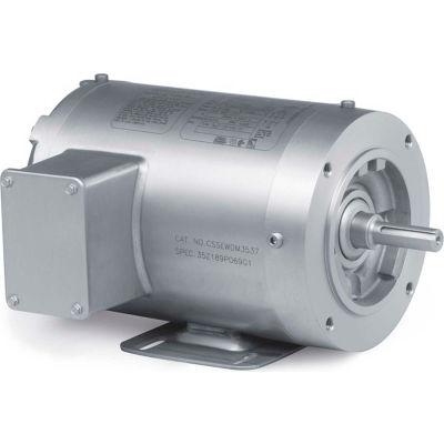 Baldor-Reliance Motor CSSEWDM3550, 1.5HP, 3500RPM, 3PH, 60HZ, 56C, 3532M, TENV, F1