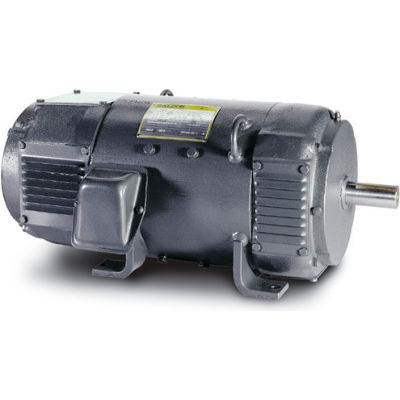 Baldor-Reliance Motor D2005P, 5HP, 1750RPM, 240V, DKPG, L186AT