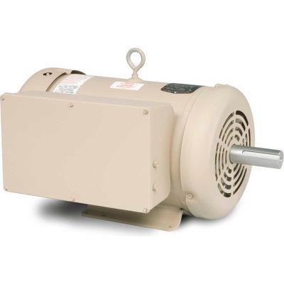 Baldor-Reliance Motor DEL3737TM, 10HP, 1760RPM, 1PH, 60HZ, 215T, 3750LC, TEFC, F