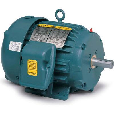 Baldor-Reliance Severe Duty Motor, ECP83580T-4, 3 PH, 1 HP, 460 V, 3450 RPM, TEFC, 143T Frame