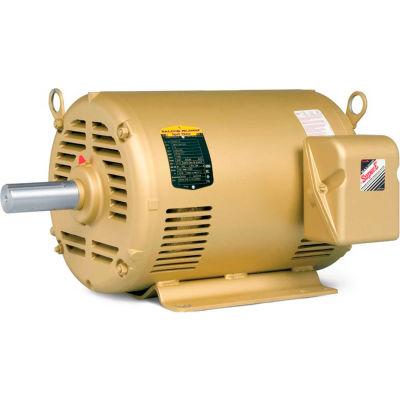 Baldor-Reliance Motor EFM3211T, 3HP, 1755RPM, 3PH, 60HZ, 182T, 3634M, OPSB, F2