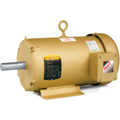 Baldor-Reliance F-2 Mount Motor, EFM3714T, 3 PH, 208-230/460 V, 10 HP, 1770 RPM, TEFC, 215T Frame
