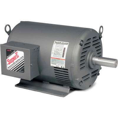 Baldor-Reliance Motor EHM3157T, 2HP, 1725RPM, 3PH, 60HZ, 145T, 3532M, OPSB, F1