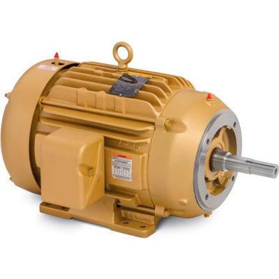 Baldor-Reliance Pump Motor, EJMM2394T-G, 3 Phase, 15 HP, 230/460 Volts, 3600 RPM, 60 HZ, TEFC, 254JM