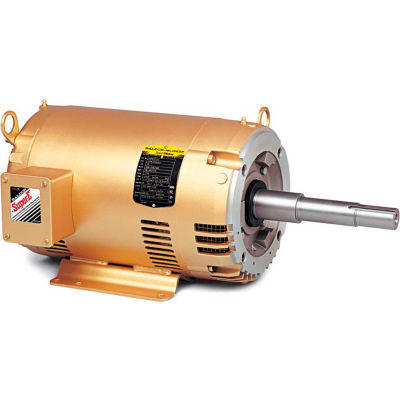 Baldor-Reliance Motor EJMM3219T, 7.5HP, 3500RPM, 3PH, 60HZ, 184JM, 3646M, OPSB