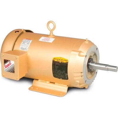 Baldor-Reliance Pump Motor, EJMM3615T, 3 Phase, 5 HP, 208-230/460 Volts, 1750 RPM, 60 HZ, tefc,184JM