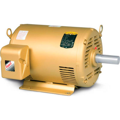 Baldor-Reliance General Purpose Motor, 208-230/460 V, 2 HP, 1755 RPM, 3 PH, 145T, OPSB
