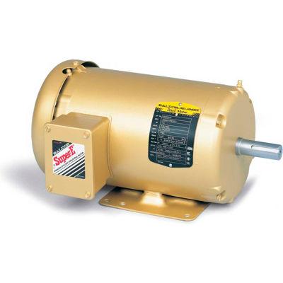 Baldor-Reliance 3-Phase Motor, EM3555T-5, 2 HP, 3490 RPM, 145T Frame, Foot Mount, TEFC, 575 Volts
