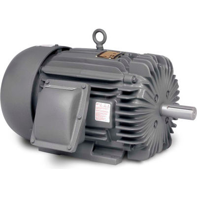 Baldor-Reliance Explosion Proof Motor, EM7053T, 3PH, 15HP, 230/460V, 3520RPM, 254T