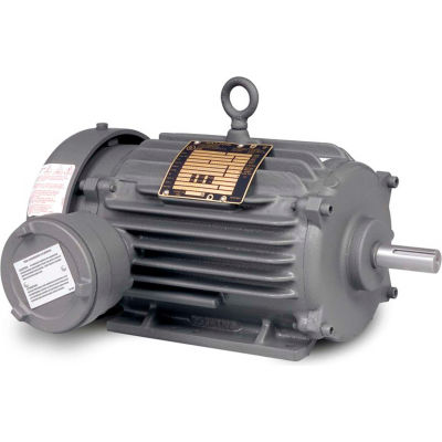 Baldor-Reliance Motor EM7137T-C, 2HP, 1755RPM, 3PH, 60HZ, 145T, 0535M, XPFC, F1