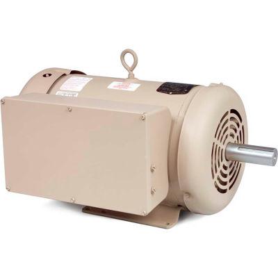 Baldor-Reliance Motor FDL3737TM, 10HP, 1730RPM, 1PH, 60HZ, 215T, 3752LC, TEFC, F