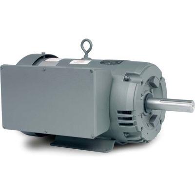 Baldor-Reliance Motor GDL1607T, 7.5HP, 1725RPM, 1PH, 60HZ, 215TZ, 3744LC, ODTF