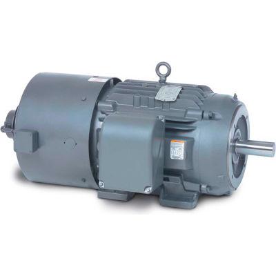 Baldor-Reliance Motor IDM3768T, 5HP, 1160RPM, 3PH, 60HZ, 215TC, 0740M, TEBC, F1