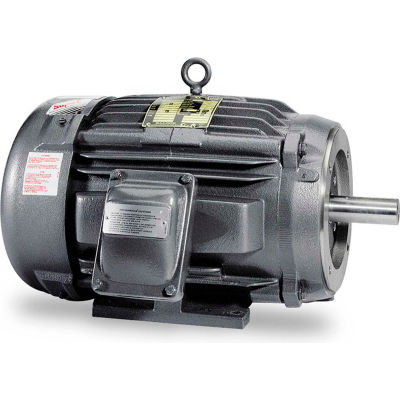 Baldor-Reliance Motor IDXM7542T, 3HP, 1760RPM, 3PH, 60HZ, 182TC, 0628M, XPFC, F1