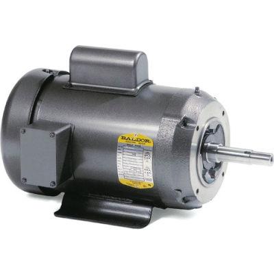 Baldor-Reliance Motor JML1409T, 5HP, 3500RPM, 1PH, 60HZ, 184JM, 3634LC, OPEN, F