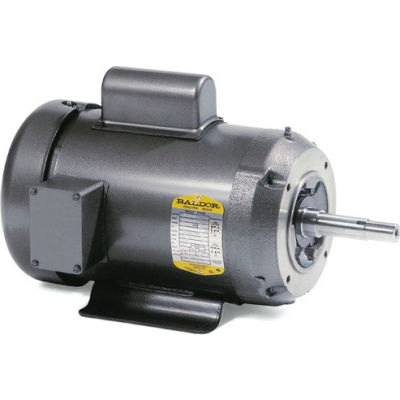 Baldor-Reliance Motor JML1508T, 5HP, 1725RPM, 1PH, 60HZ, 213JM, 3727L, OPSB, F1
