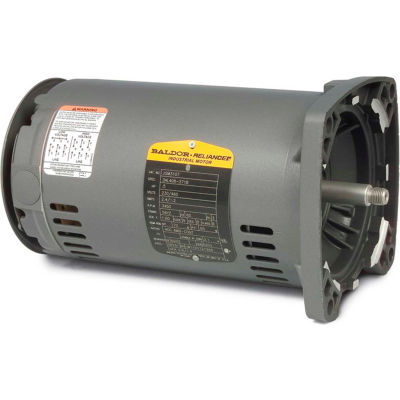 Baldor-Reliance Motor JSM3111, .75HP, 3450RPM, 3PH, 60HZ, 56YZ, 3416M, OPEN, F