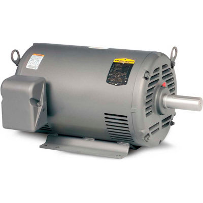 Baldor-Reliance Motor M1226T, 10/4.4HP, 1740/1160RPM, 3PH, 60HZ, 256T, 3750